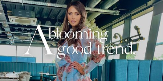 Floral dresses for women: a blooming good trend