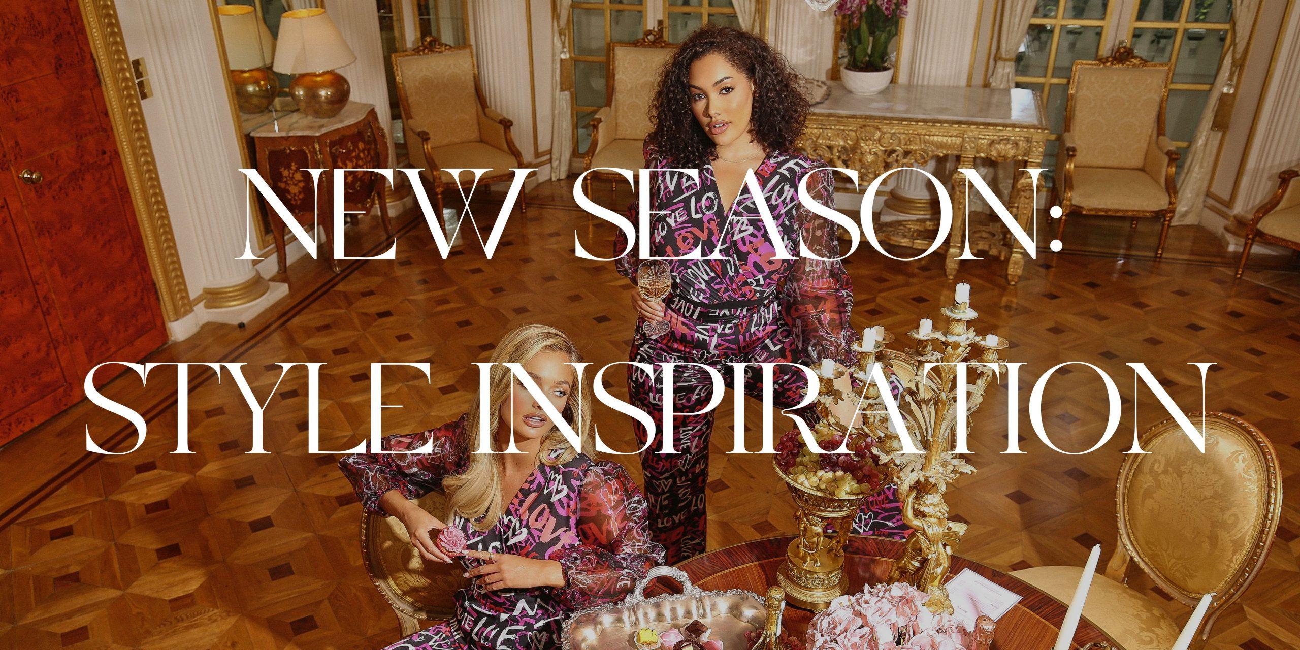 New Season: Style Inspiration