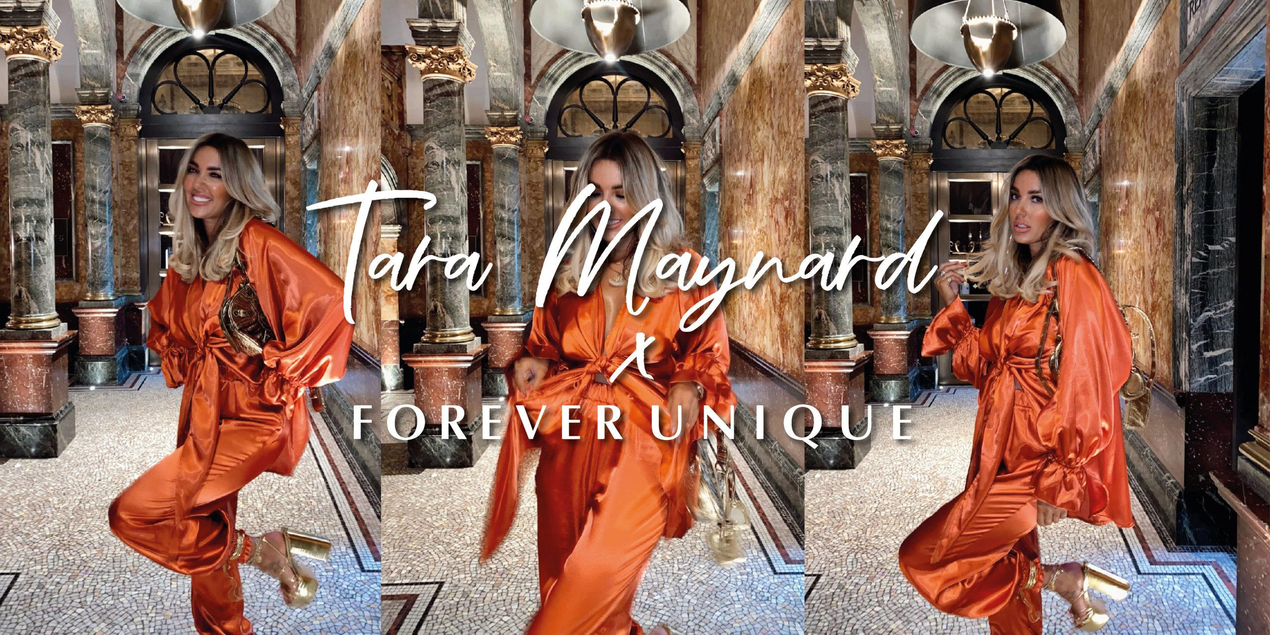Forever Unique launches new Autumn Winter collection with Influencer Tara Maynard